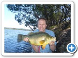 3KG Golden Perch for Steve Incledon.